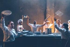 η κουζίνα - θέατρο αποθήκη